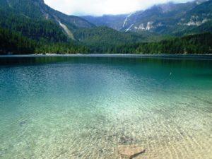 laghi del trentino alto adige